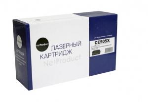 Картридж  CE505X  NetProduct с чипом