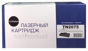 Картридж Brother  NetProduct  TN-2075, 2,5К