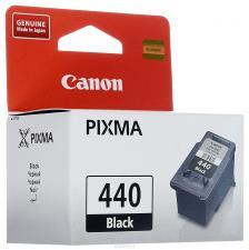 Заправка черного струйного картриджа Canon PG-440