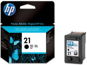 Заправка черного струйного картриджа HP 21 (C9351)