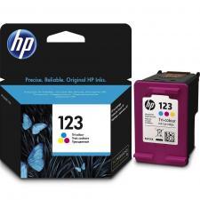 Заправка цветного струйного картриджа HP 123 (F6V16AE)