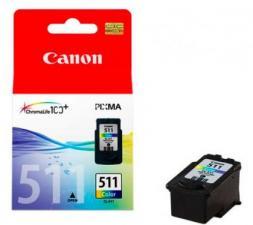 Заправка картриджа Canon CL-511 (цветной)