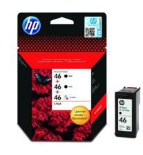 Заправить  Картридж струйный HP 46 (CZ637AE) черный