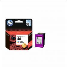Заправить картридж струйный HP 46 (CZ638AE) цветной