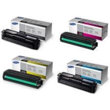 Заправка картриджа CLT-K504S (чёрный) CLT-C504S (голубой) CLT-Y504S (жёлтый) CLT-M504S (пурпурный)  для Samsung CLP-415 / 415N / 415NW  CLX-4195 / 4195FN / 4195FW